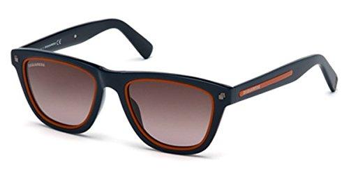 Sunglasses DSquared2 DQ 169 DQ0169 90K shiny blue / gradient - Sunglasses Dq