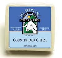 Mt. Sterling: Country Jack Goat Cheese 8 Oz (6 Pack)