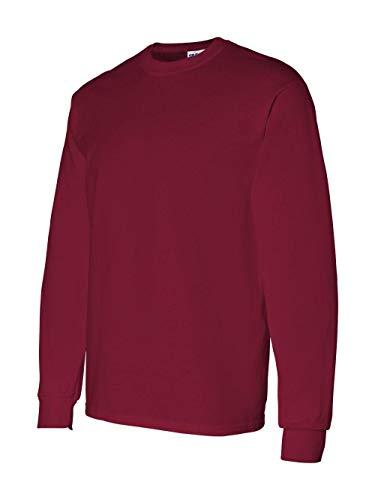 Gildan Mens 5.3 oz. Heavy Cotton Long-Sleeve T-Shirt G540 -CARDINAL RED L