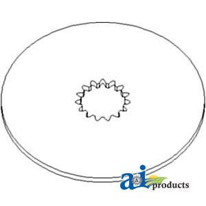 A&I Products Disc, Brake Replacement for John Deere Part Number R38615