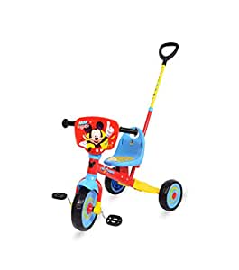 Spartan Disney Mickey Tricycle with Pushbar