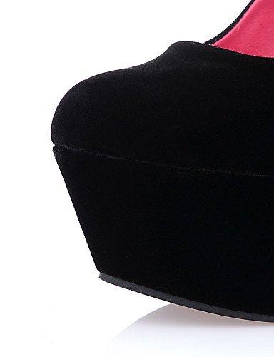 Cu Tac¨®n Vestido de Fiesta Tacones Negro y cn39 Zapatos uk6 us5 Noche Cu black black Casual Punta a Redonda mujer eu39 cn39 ZQ PU as Tacones black us8 cn34 uk3 us8 eu39 uk6 eu35 aqwIt5