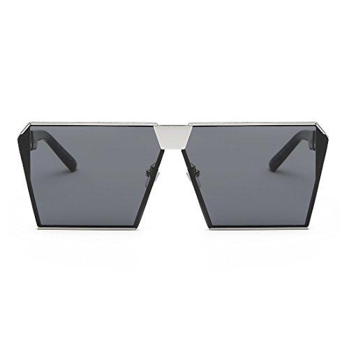 323dbf0f43b AEVOGUE Sunglasses For Men Square Oversized Metal Frame Brand Designer  AE0436
