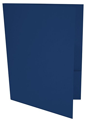9 x 12 Presentation Folders - Navy (50 Qty) | Perfect for...