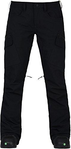 Burton Women's Gloria Pants, True Black, (Burton Women Snowboard Pants)