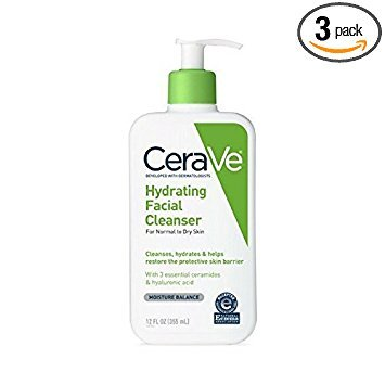 CeraVe Hydrating Facial Cleanser 12 oz