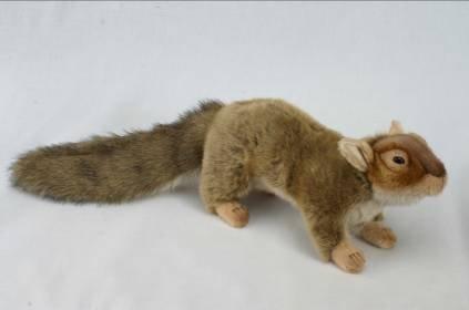 braun Squirrel Plush Toy By Hansa by Hansa