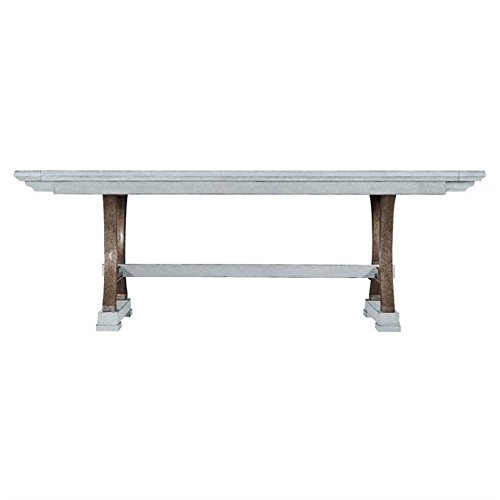 Stanley 062-H1-36 Coastal Living Resort Shelter Bay Extendable Rectangular Dining Table, Sea Salt Finish Stanley Dining Room