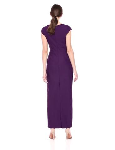 Slimming Long Cap Sleeve Dress