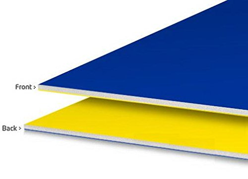 Royal Consumer 2 Cool Colors Foam Board, Blue/Yellow, 20 x 30 inches, 5 Count (26829)