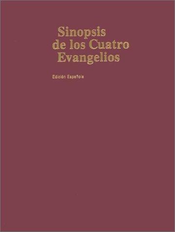 Sinopsis de los Cuatro Evangelios-RV 1960 (Spanish Edition) pdf
