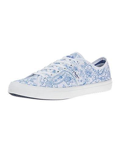 Pepe London Blanco azul Zapatillas Jeans 39 Eu q4RU7Bz