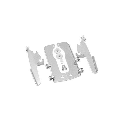 Memphis Shades MEM8979 Polished Trigger-Lock Mount Kit for Suzuki VL800 Boulevard C50 and Intruder 2001-2013