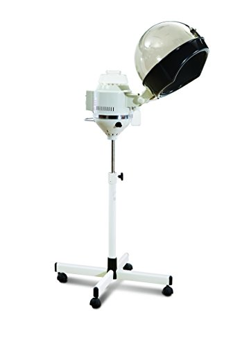 D Salon Portable Professional Salon Hair Steamer With Rolling Stand Base Hood Salon Beauty Spa by D Salon