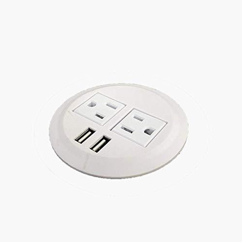 PWR-Plug Power Grommet for Desk Office Furniture Fits 3