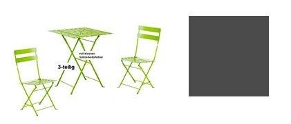 Amazon De Pulsiva Gartenmobel Set 3 Tlg Inhalt 2 Stuhle 1