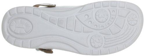 Ganter AKTIV Fabia, Weite F 5-202337-02000 - Zuecos de cuero para mujer blanco - Weiß (weiss 0200)