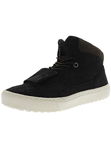 Vans Mountain Edition Waxed Suede Black High-Top Snow Sneaker - 8M / 6.5M