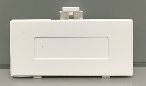 Boy Game Color Cover Battery (Battery Back Cover Door for Gameboy Pocket GBP Replacement White Color)