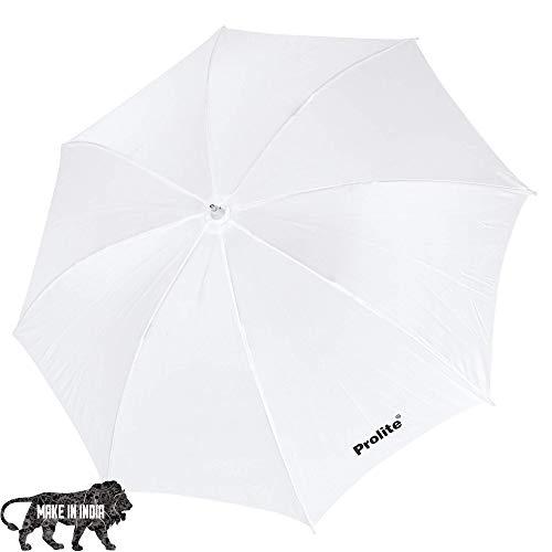 Prolite Studio Standard Umbrella Diffuser (18-inch) for Photography Speedlite Flash, Continuous Light (Sungun, Porta) Videography (Pack of 1)