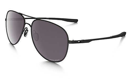 Oakley Elmont Large Aviator Sunglasses Matte Black with Prizm Daily Polarized Lens + - Aviators Black Oakley