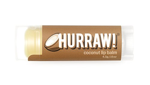 Certified Organic Lip Balm (Coconut (2 Pack) Hurraw! Lip Balm: Organic, Certified Vegan, Certified Cruelty Free, GMO Free, Gluten Free, All Natural – Luxury Lip Balm Made in the USA – COCONUT (2 Pack))