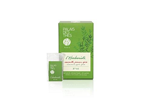 Palais des Thés L'Herboriste, Herbal Tea with Chamomile, Apple and Spices 20 Tea Bags (40g/1.4oz) ()