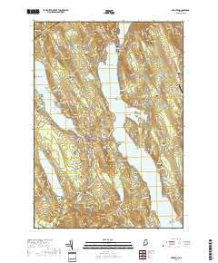 Bridgton, Maine topo map by East View Geospatial, 1:24:000, 7.5 x 7.5 Minutes, US Topo, 22.8