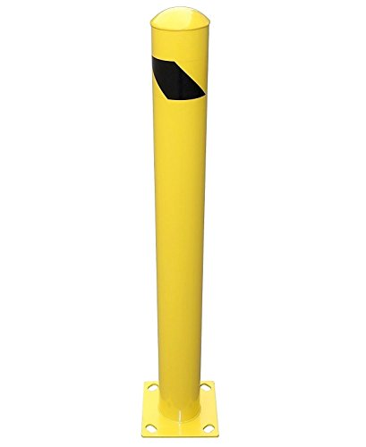 YM M2380 Steel Pipe Safety Bollard, 4-1/2