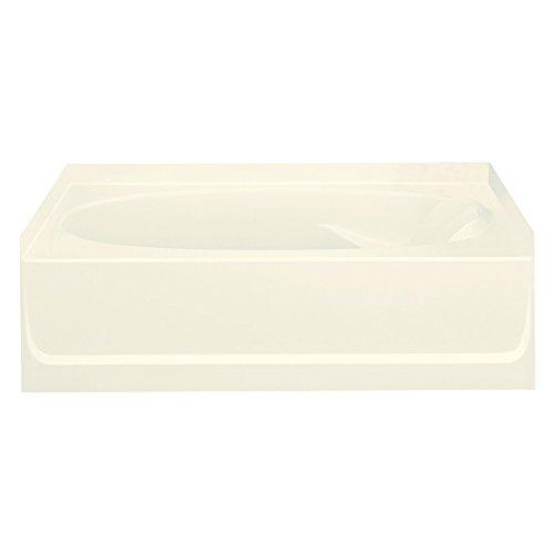 STERLING 71101110-96 Ensemble Bathtub, 60-Inch x 36-Inch x 16-Inch, Left-Hand, Biscuit