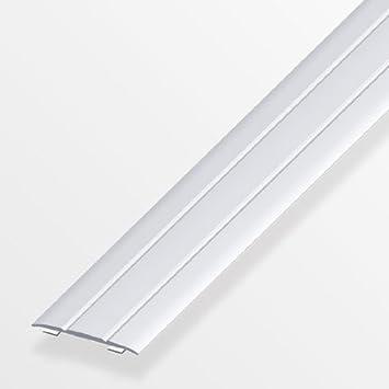 Bevorzugt Übergangsprofil 100x3,7x0,25cm flach Aluminium messing eloxiert EM49