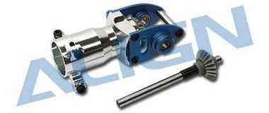 Align/T-Rex Helicopters 600/600N Metal Tail Unit for Torque Tube, Blue