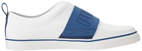 Puma Mens El Rey Divertimento Moda Sneaker Puma Bianco / True Blue