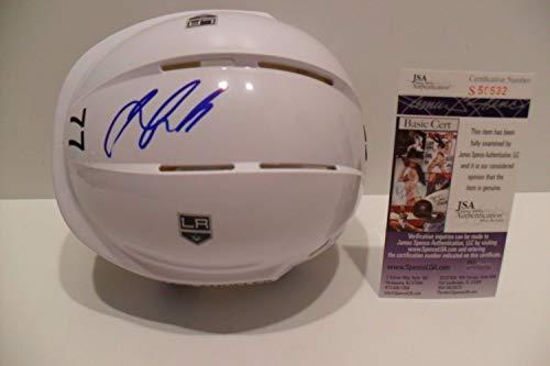 Jeff Carter Autographed Signed Los Angeles Kings Helmet Memorabilia JSA Nice #77 Helmet