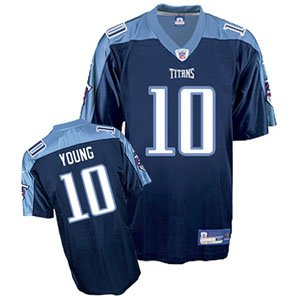 Reebok Tennessee Titans Vince Young Replica Alternate Jersey Extra Large