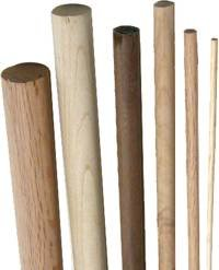 Maple Wooden Dowel Rod 9/16