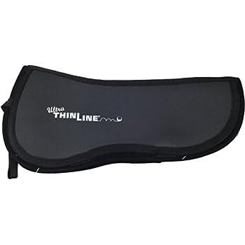 7305 ThinLine Trifecta Cotton Ultra Half Pad Differ Sizes - BLACK or WHITE