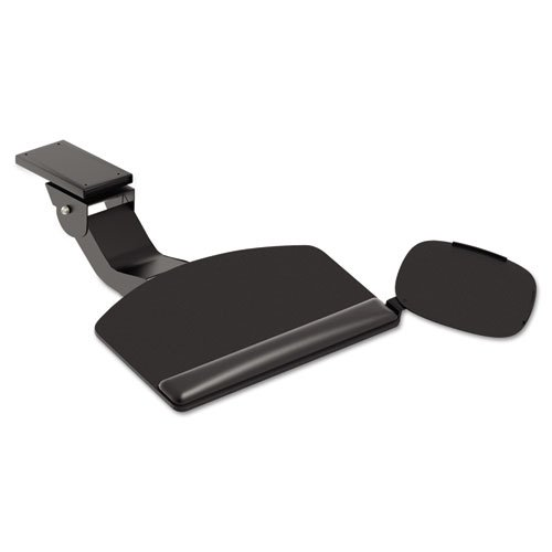 """HON Articulating Arm with Convertible Keyboard Tray, 28"""" Width x 11-1/2"""" Depth, Black"""