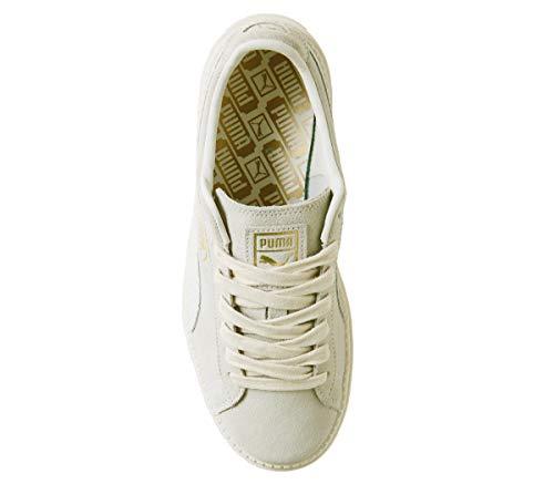 02 Blanc Trace Platform Whisper White Puma 367814 Metallic Gold Animal 78qPxfUw