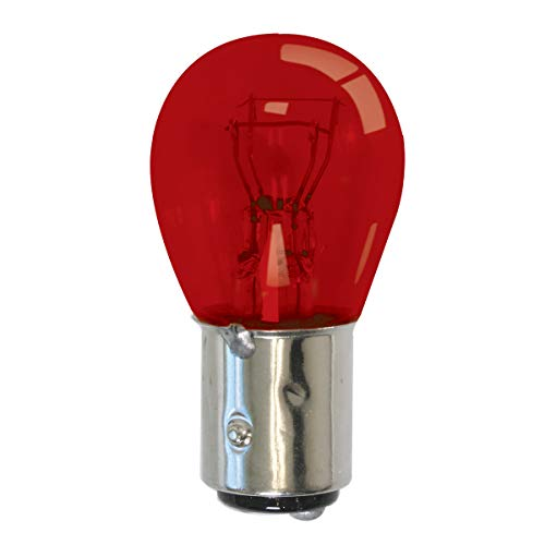 Grand General 84043 Light Bulb (1157 Red Glass)
