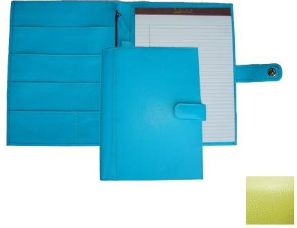 Raika RO 220 LIME 9.5in. x 12.5in. Soft Constructed Writing Pad - Lime by Raika