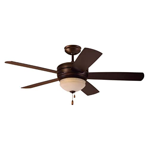 Outdoor ceiling fan with light wet rated amazon emerson ceiling fans cf850vnb summerhaven 52 inch indoor outdoor ceiling fan with light wet rated ceiling fans in venetian bronze finish aloadofball Image collections