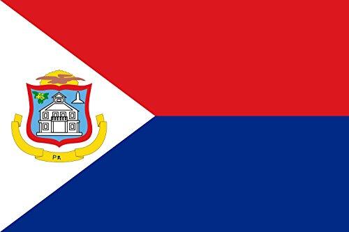 magFlags XXL+ Flag Sint Maarten | landscape flag | 3.75qm...