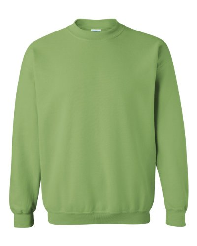 (Gildan Men's Heavy Blend Crewneck Sweatshirt - Small - Kiwi)