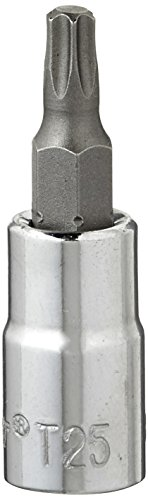 Crescent CDTS3N TORX SOCKET,T-25 INTERNAL,1/4
