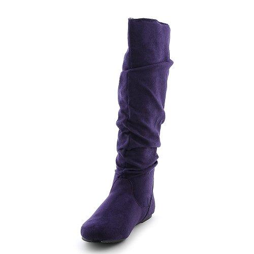 Bambou Femmes Rebeca-02r Boot Violet