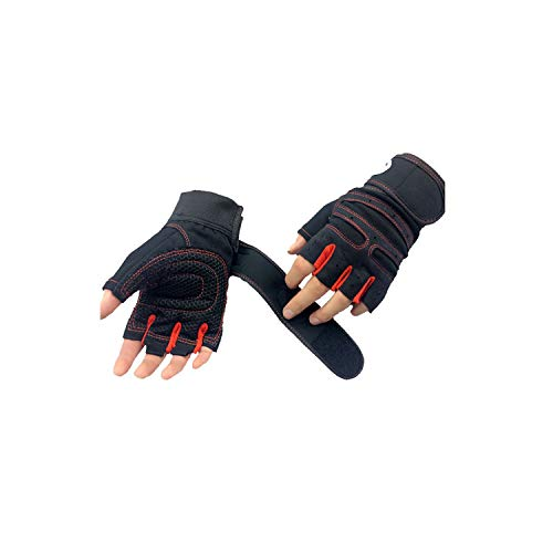 Voic-A Sports Exercise Weight Lifting Gloves Body Building Training Sport Fitness Gloves
