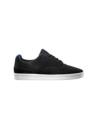 Fourgonnettes Variable Hommes Bout Rond Cuir Chaussure De Skate Charbon Royal