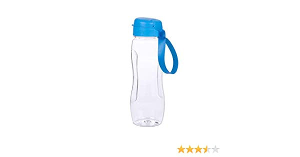 24oz//34oz BPA Free Leakproof Flip Plastic Water Bottle for Outdoor Hiking Camping Travel DLUCKY Sports Water Bottle