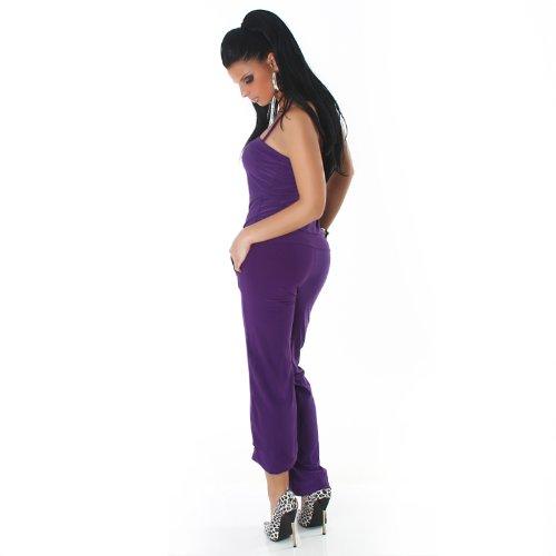 nummer-zwoelf - Pantalón - cuello hálter - Sin mangas - para niño Purple - Lila